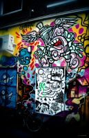 Graffiti in Amsterdam by PaalM