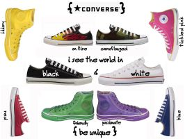 Converse - Chuck Taylors by aimerzJD