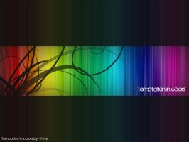 Temptation in colors by f-law
