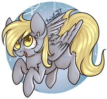 Derpy Hooves by yukomaussi