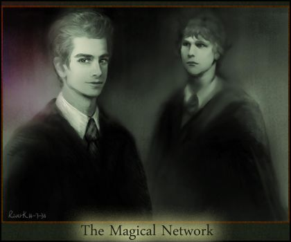 The Magical Network( a Social Network Fanart) by ValerieWu