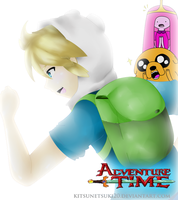 Finn the Human Boy (Anime Version XD) by Kitsunetsuki20
