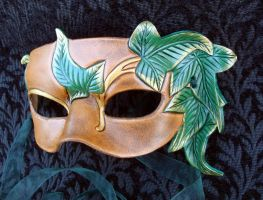 Elvish Leaf Mask by merimask