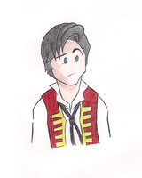 Cartoony Enjolras by MdeLucena