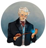 Garrick Ollivander by Natello