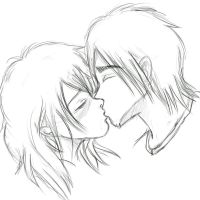 kiss by millegas