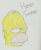 Homer Thinks He's Cool by TheSimpsonsFanGirl