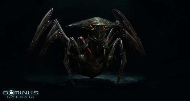 Spider Military for a 4x strategy Dominus Galaxia by LazarK