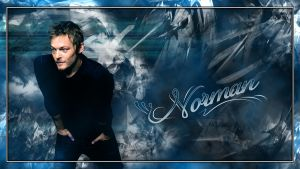 Norman Reedus Wallpaper by Shade-K
