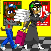 John And Kitty's Christmas Shopping by CaseyDecker