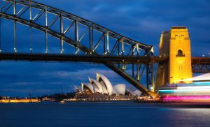 Cruisy Sydney Harbour Lights by Bobby01