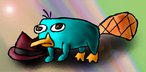 Perry the Platypus by Quacksquared