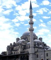 Yeni Mosque by Fuyou-hime