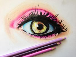 Eye study #2 by ChrisHerreraArt