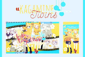 Bset - Kagamine Twins by bluebbeee