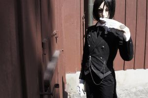 Sebastian Michaelis - A hell of a butler by RomaiLee