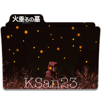 Grave of the Fireflies (Setsuko) Icon by KSan23