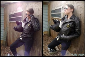 Good Cop Bad Cop Cosplay - Bad Cop by Lithe-Fider