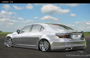 Lexus LS -chrome- by Yzn90