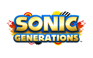 Sonic Generations oficial logo by Axelrose-kpo
