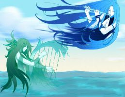 The Elements: Wind and Water by SamuraiMike