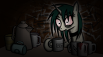 The Last Cup of Coffee by Mrocza
