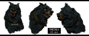 MY DOG CARTOON 3D FINISHED by jorcerca