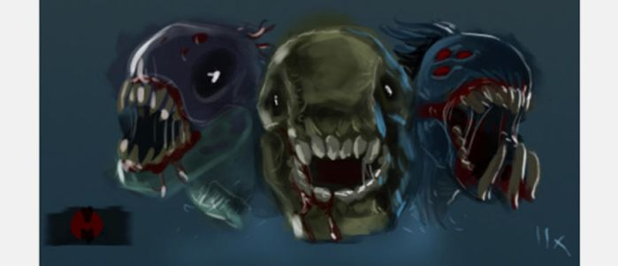 monsters by harry-osborn