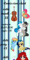 Commission sheet by MintyScratch