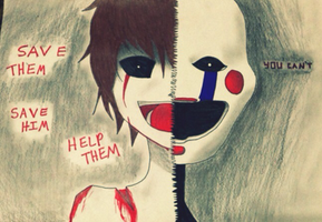 the marionette/puppet (fnaf2) by Natchous