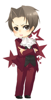 Miles Edgeworth by CrazyTwinkie
