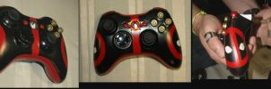 Deadpool Controller Collage by matherite