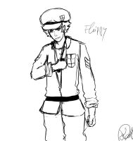 Flippy Sketch by Kathaaa
