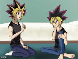 Yugi and Atem My Style by Kuzai