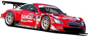 Bandai Direzza SC430 Super GT by Jonny-Rocket