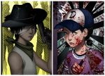 The Walking Dead_Carl and Clem by lydia-the-hobo
