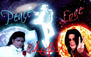 Peace and Love -Michael Jackson by veraelyazji