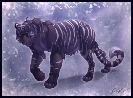 Shadow Tiger by DolphyDolphiana
