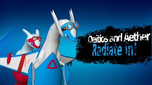 Deltios and Aether Radiate in! by DELT-4