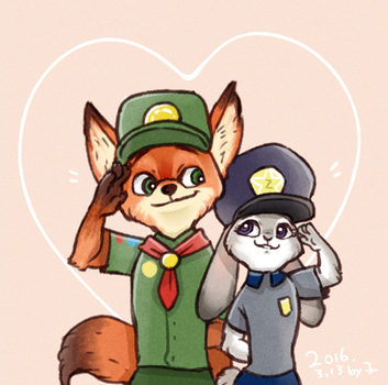 [Zootopia]If we meet early. by smily0347yo