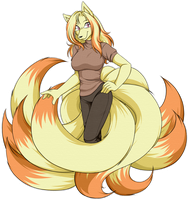 Akane The Ninetales by Akane-The-Fox
