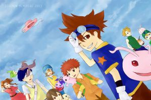DIGIMON MEMORIAL 2013 by emichii