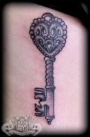 Key by state-of-art-tattoo