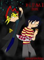 HPMI the comic_cover by KPenDragon