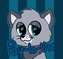 [P2U][BASE] - LPS Long-haired Cat by Featheries