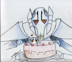 Grievous: Cake? by theREDspy