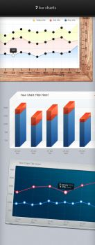 Bar Charts and Infographic Elements by mygreed