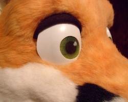 Toony Fox Mask WIP by nagowteena101