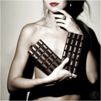 Chocolate is the new black by Daywish