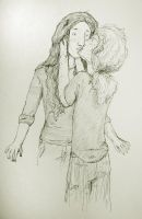 Nahele and Terry kissing by beriquito